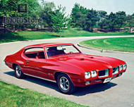 1970 Pontiac GTO Hardtop Coupe II Poster