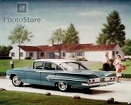 1960 Chevrolet Bel Air 4-Door Sedan Poster