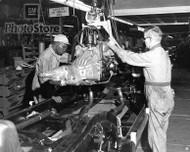 1963 Chevrolet Corvette Engine Drop Poster