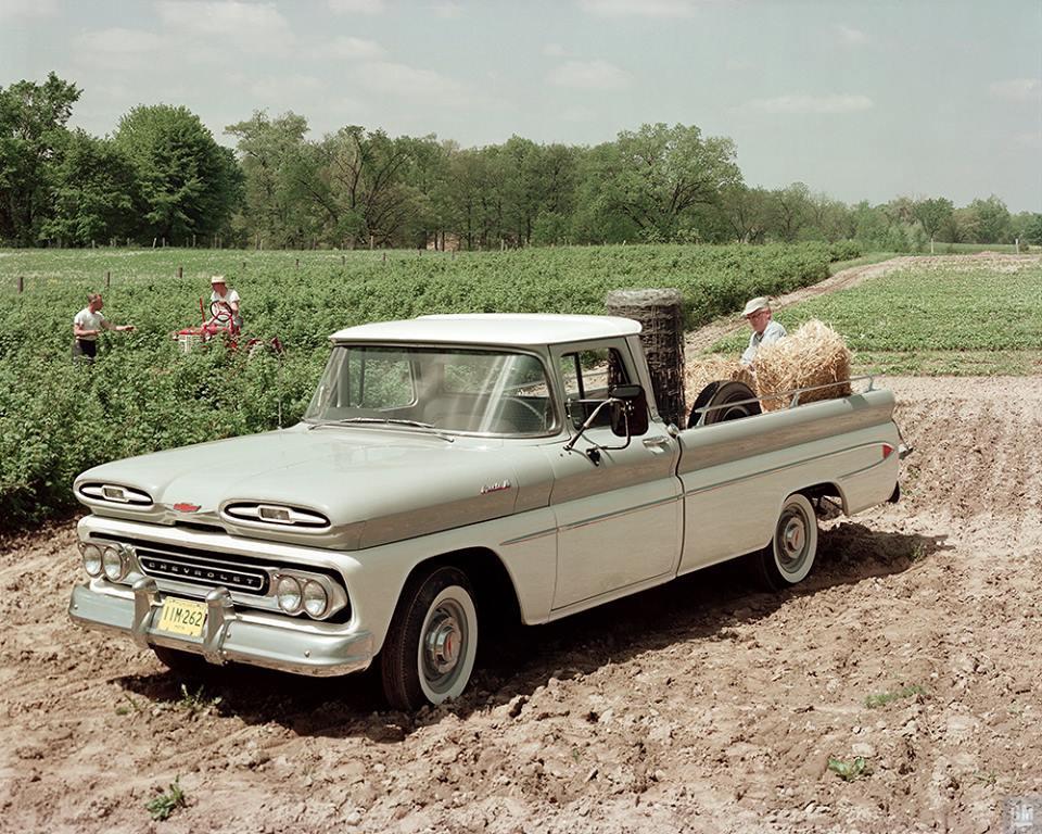 1961 Chevy Apache Pickup Poster Gmphotostore