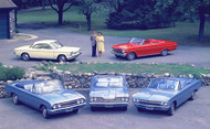 1960s GM Convertibles Poster