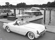 Chevy's '54 Corvette Poster