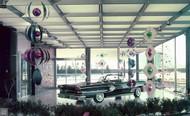 1958 Pontiac Bonneville convertible Poster