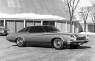 1972 Buick Skylark Model Poster