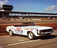 1969 Chevy Camaro Daytona 500 Pace Car Poster