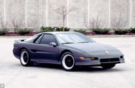 1990 Pontiac Fiero Stelth Concept Poster