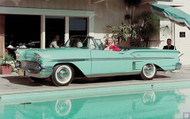 1958 Chevy Bel Air Convertible Poster