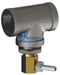 """Temperature management release valve use with UV water purification system using 1 1/2"""" pipe size"""