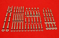 Suzuki RM465 RM500 81 - 84 Polished Stainless Steel Engine Bolt Kit