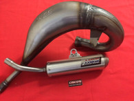 HGS YAMAHA YZ125 05 ONWARDS EXHAUST SYSTEM & VORTEX X10 CDI
