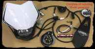 Yamaha YZ125 2005 onwards Lighting/Rec Rego Kit
