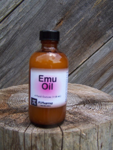 Pure Emu Oil, 4 oz.