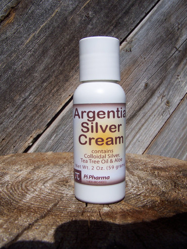 Argentia Silver HEALING Cream -- says it all!