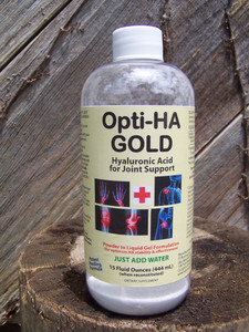 Opti-HA Hyaluronan Powder-to-Gel, 15 oz
