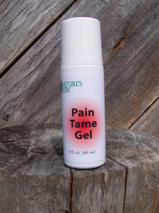 Pain Tame Gel roll-on, 3 oz.