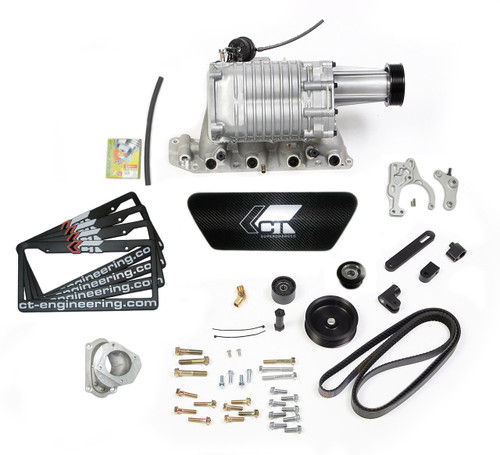 CT-Engineering SuperCharger Kit for 2006-2011 Civic Si - 8th gen k20z3