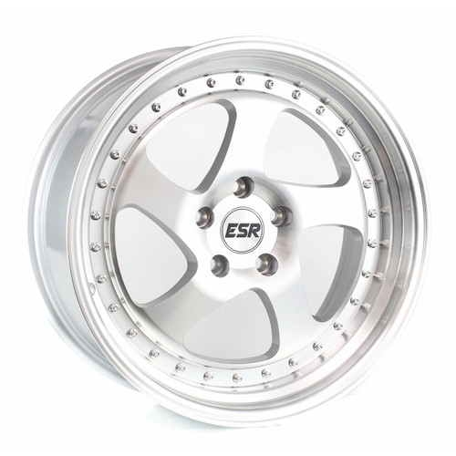 ESR SR02 Machined Silver