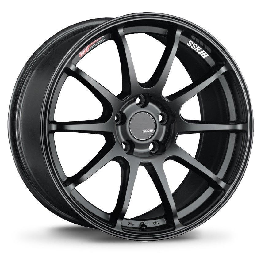SSR GTV02 wheel (Phantom Silver Or Flat Black)