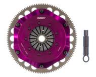 "Exedy ""Twin Disc"" Stage 4 Hyper Double Compe-R Twin Cerametallic Clutch for K-Series HM032SBL"
