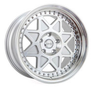 varrstoen mk5 wheel in gloss silver