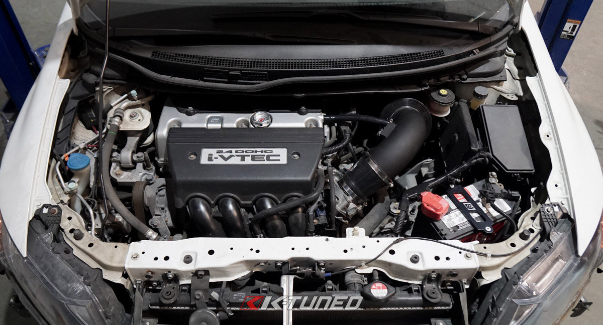 "K-Tuned 3.5/"" 9th Gen Civic Si Short Ram Intake for 2012-15 Honda Civic Si"