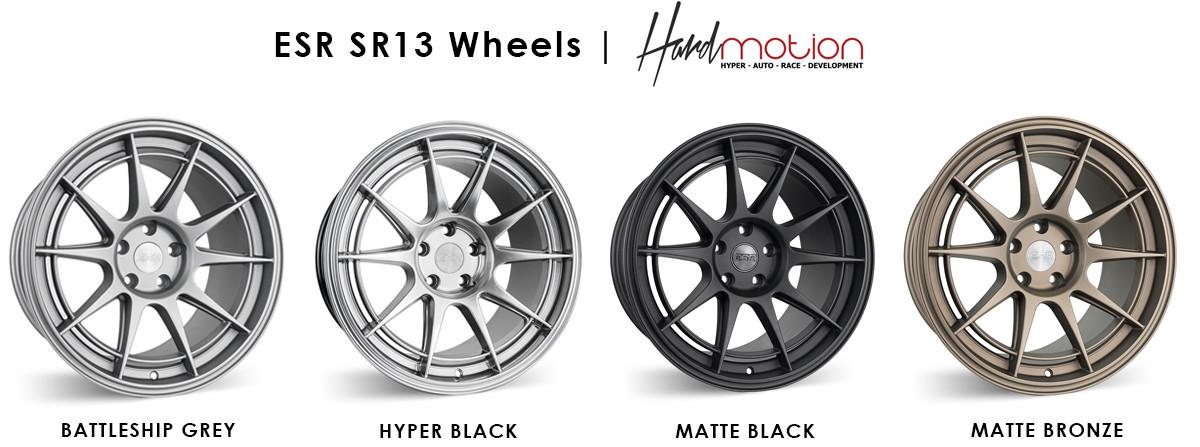 ESR SR13 Wheels Colors