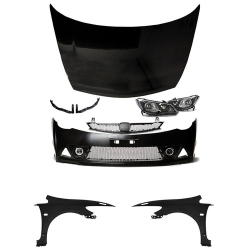 06-11 Honda Civic JDM Mugen RR Front End Conversion