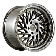 AodHan DS-03 Wheels Black Chrome