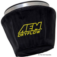 AEM Air Filter Wrap Black 7.5in Length x 5in Width x 5in Height