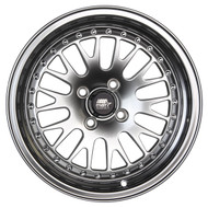 MST MT10 Wheels Silver / Machined