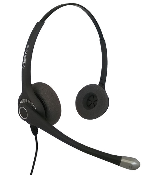 Ultra Noise Canceling Binaural Corded Headset