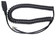 Cisco Phones Headset Cord or Plantronics M12, M22 amp replacement cords