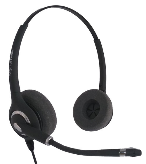 Smith Corona Ultra Pro Binaural Corded Headset