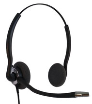 Classic Dual Binaural Headset Refurbished