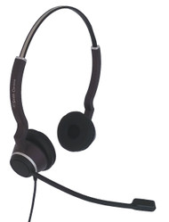 Clearwire HD Binaural Corded Headset