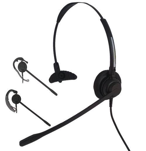 Classic Convertible 3 in 1 Headset  w/choice of cord