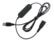 Smith Corona USB Adapter Cord with In-Line Controls