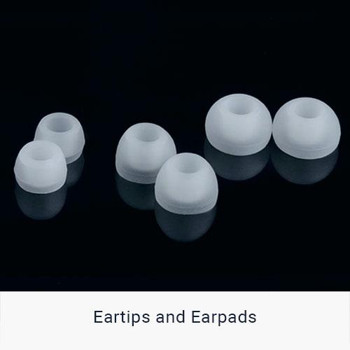 eartips and earpads
