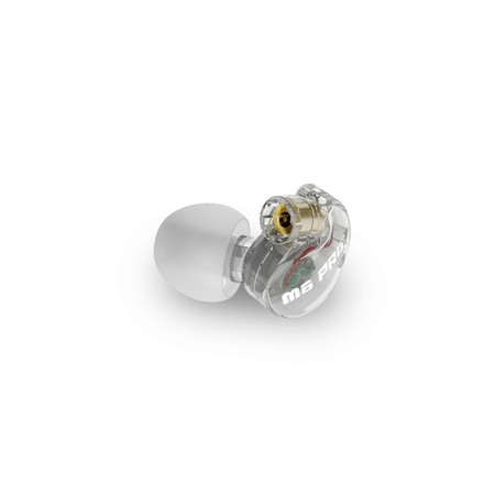 Replacement Earpiece for the M6 PRO 1st Generation In-Ear Monitors (Left) (Clear)