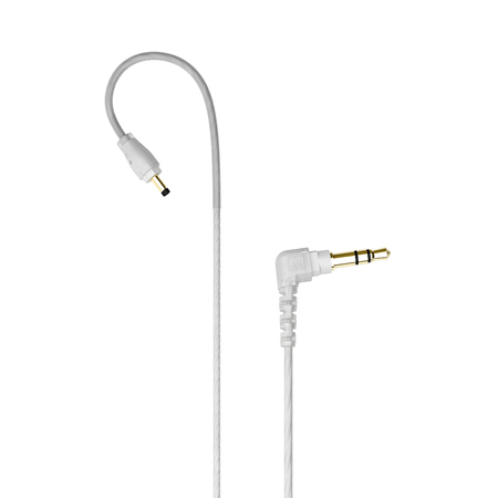 Stereo-to-Mono Audio Cable for Single-Ear Monitoring for MX PRO and M6 PRO In-Ear Monitors (Clear)