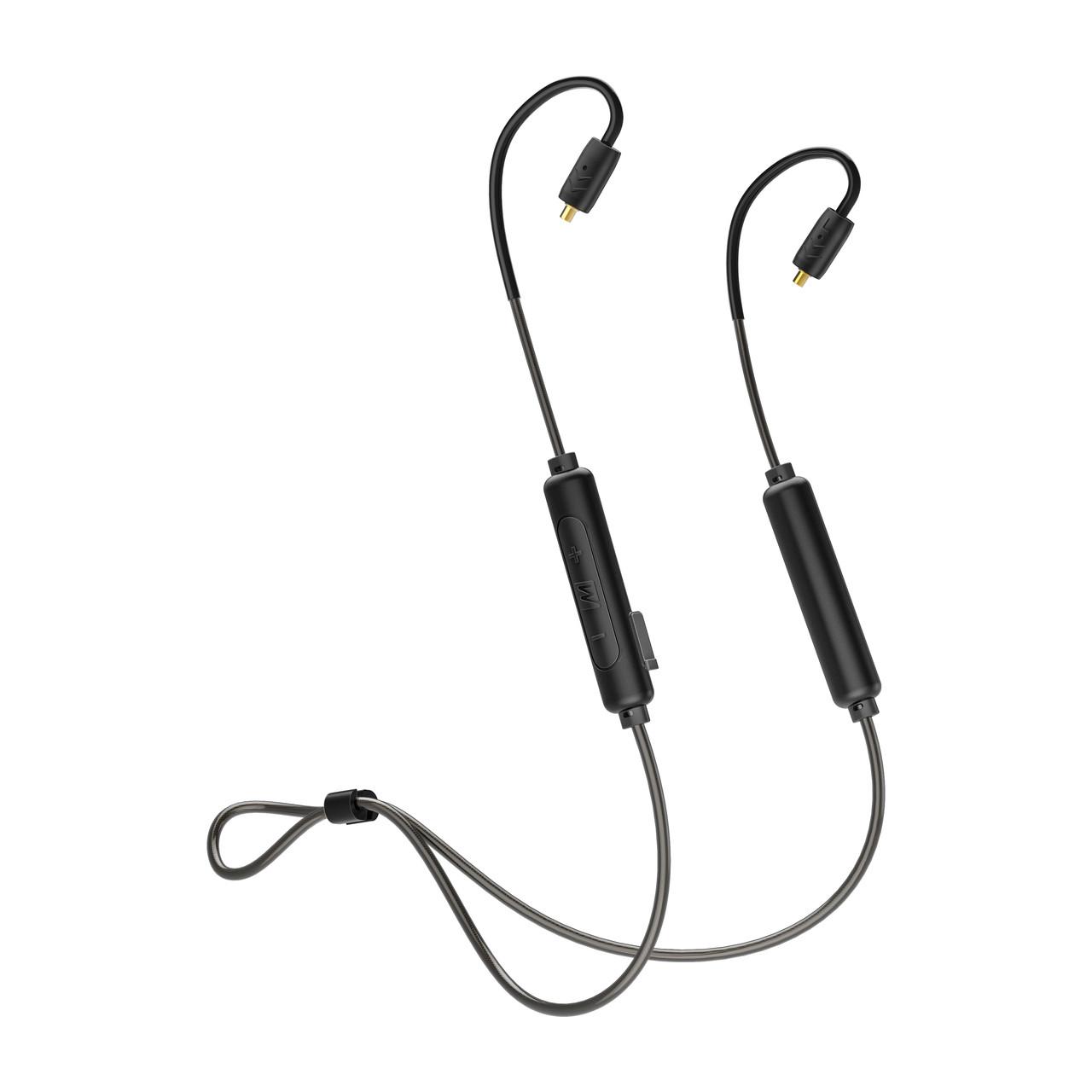 mee audio btx2 bluetooth wireless universal mmcx adapter cable with qualcomm qualcomm u00ae aptx u2122 and