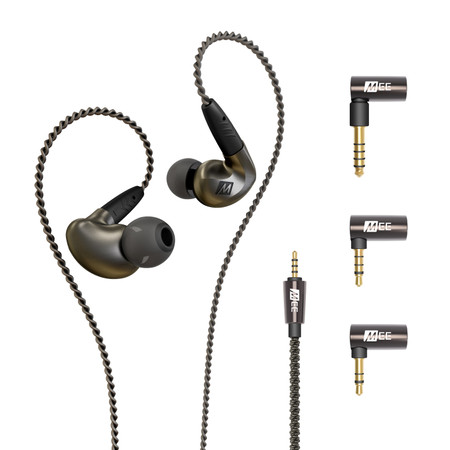 Pinnacle P1 Balanced Edition Audiophile In-Ear Earphones - Includes Balanced Cable and Adapter Set