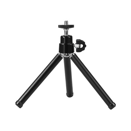 Lightweight Mini Tripod for Webcams and Cameras – Compact and Foldable Tripod for Desktop and Travel