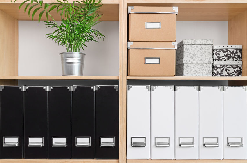 Organization For Everything In Home Office