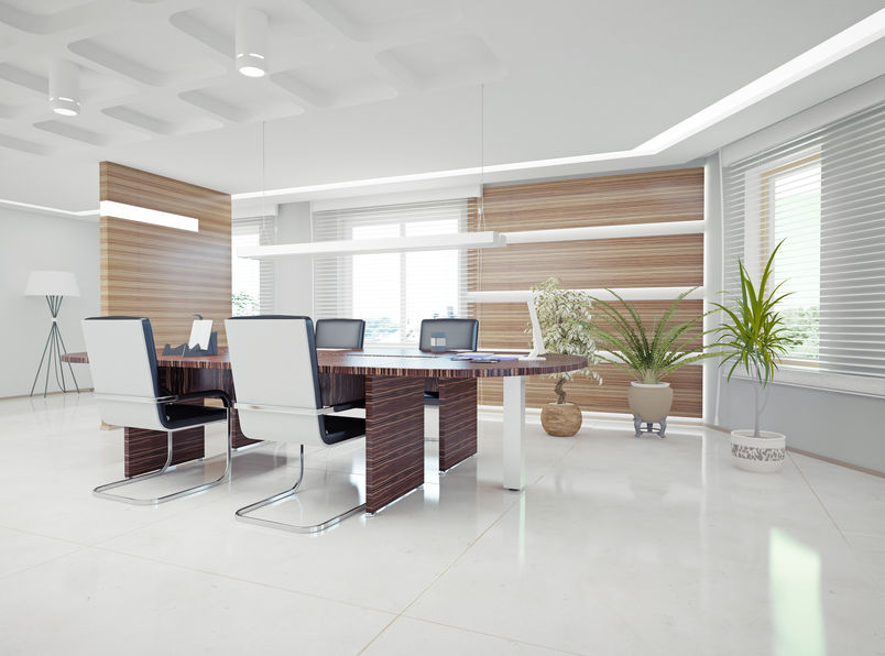 Nicely Designed Ergonmic Office Space