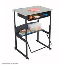 Safco AlphaBetter® Desk, 28 x 20 Standard Top with Book Box