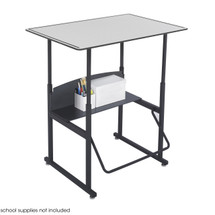 Safco AlphaBetter® Desk, 36 x 24 Premium Top, w/o Book Box