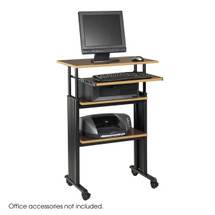 Safco Muv™ Stand-up Adjustable Height Workstation