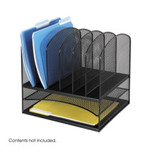 Safco Onyx™ 2 Horizontal/6 Upright Sections
