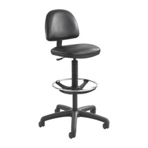 Safco Precision Vinyl Extended-Height Chair with Footring